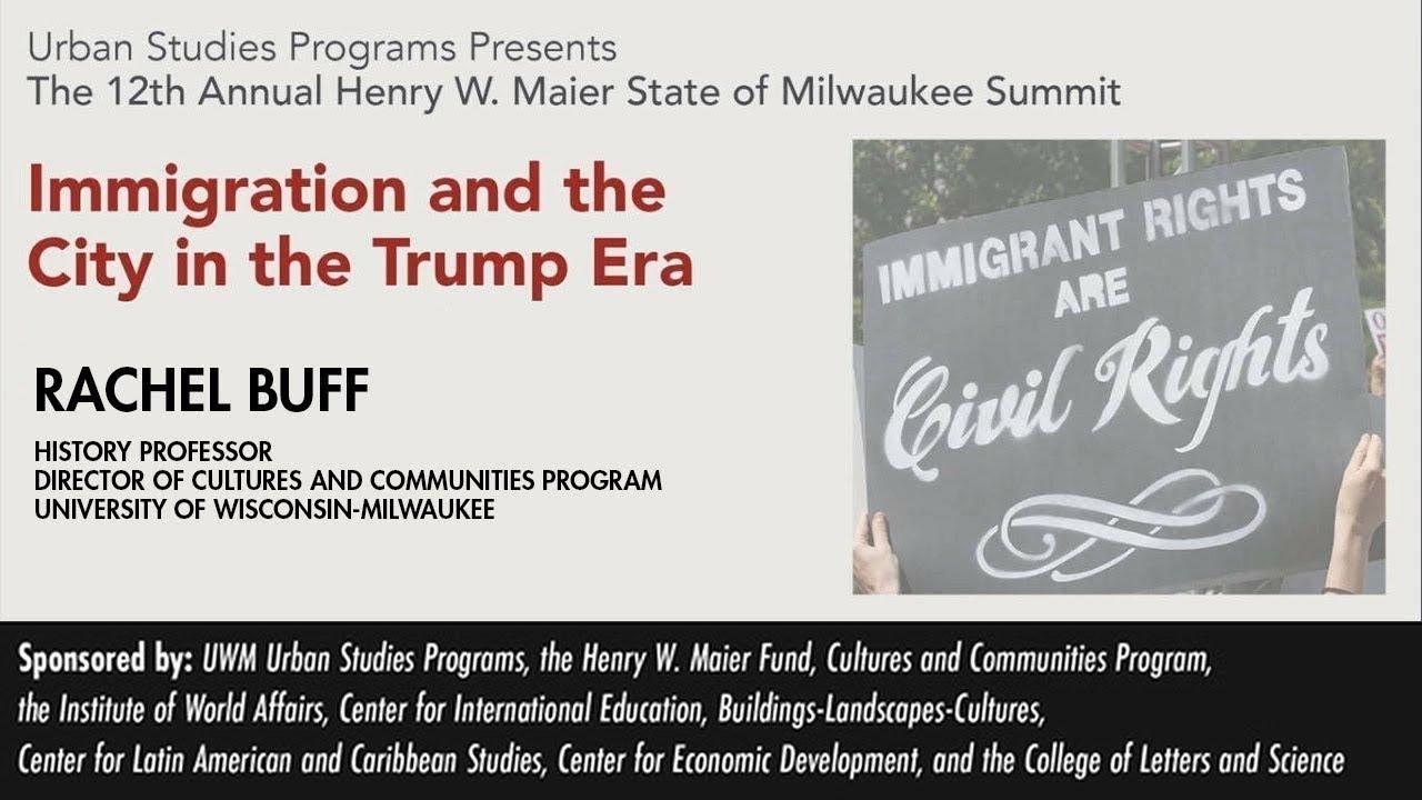 Uwm Milwaukee Summit 2018 Rachel Buff Youtube