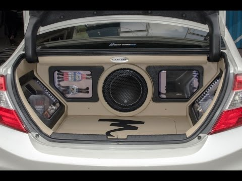 Audio Mobil  SoundQuality Jakarta ALL NEW CIVIC | 3Way Focal Utopia BE DSPH800, FPS4160 And JLAudio