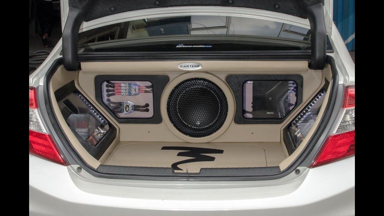 Audio Mobil SoundQuality Jakarta ALL NEW CIVIC 3Way