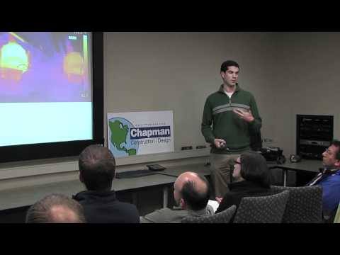 Infrared Thermography and Building Efficiency - presentation by Matthew Knights of FLIR systems