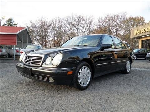 1999 mercedes benz e320 start up engine and in depth for Mercedes benz e320 1999