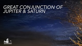 Great Conjunction of Jupiter & Saturn | December 21 2020 | Griffith Observatory