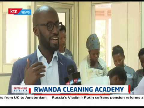 Wide Cleaning Academy in Rwanda | Bottomline Africa