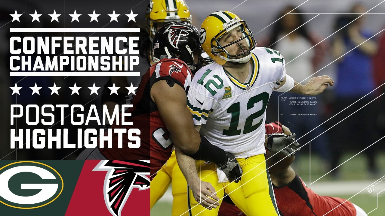 Julio Jones Goes Off For 180 Yards 2 Tds Packers Vs Falcons Nfc Championship Highlights Youtube