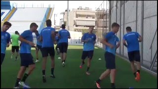 Complete dynamic & conditioning  warm up ...14...