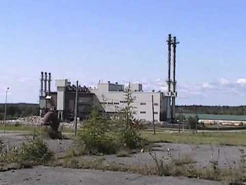 Loring AFB Heat Plant Implosion 8/13/11