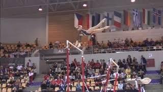 Iryna Krasnyanska (UKR) Uneven Bars Team Qualifications 2006 Aarhus World Championships