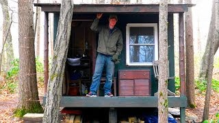 A Tiny Off-grid Cabin In The Berkshires- A Songwriters/guitarist Shed Office/retreat