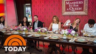 Royal Etiquette: What's The Correct Way To Eat Soup? | TODAY