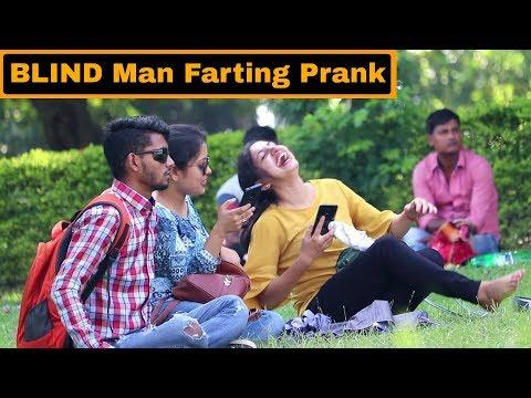 BLIND Man Farting Prank On Girls - In Kolkata - Pranks in India   By TCI