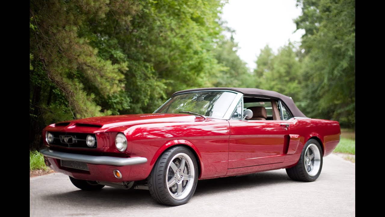 Mo\' Muscle Cars 1964.5 Mustang Convertible built for Mr. Rob - YouTube