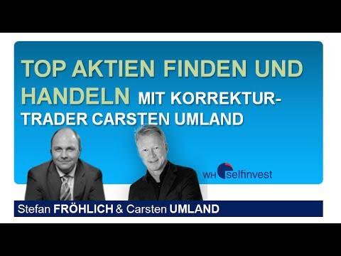 Top Aktien finden und handeln mit Carsten Umland