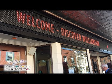 Discover Williamson - Williamson County Parks & Recreation Department