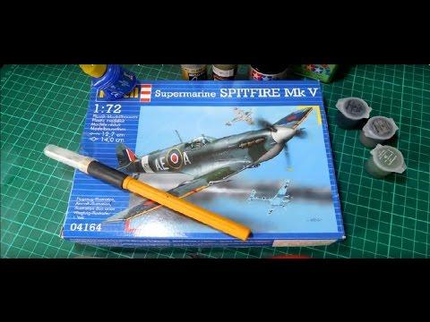 Beginners Guide: Revell 1/72 Spitfire Mk.V (Part 1)