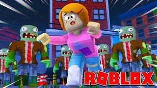 Roblox Escape Zombie City Obby!