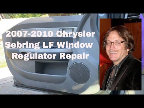 Chrysler Sebring Window Regulator Repair 2007-2010