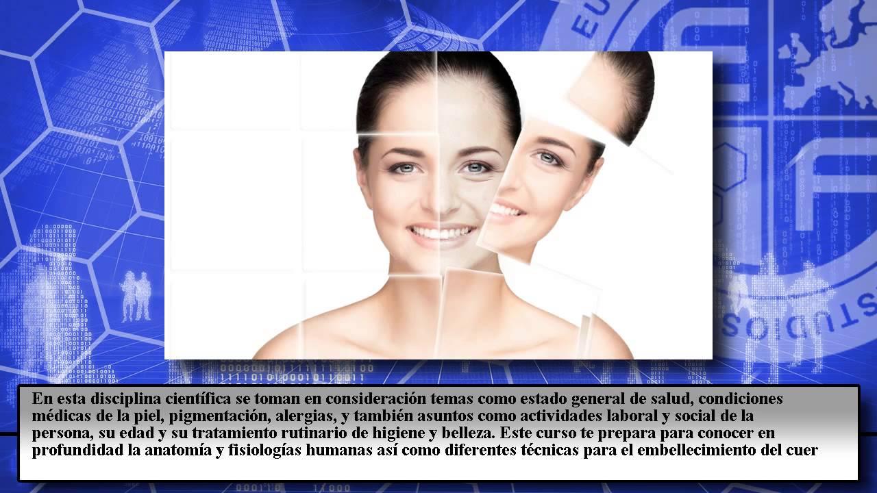 Curso Cosmetologia Aplicada Estetica Integral - Cursos Online - YouTube