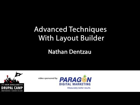 Advanced Techniques With Layout Builder thumbnail