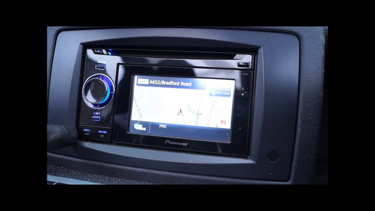 2010 smart fortwo pioneer sat nav youtube. Black Bedroom Furniture Sets. Home Design Ideas