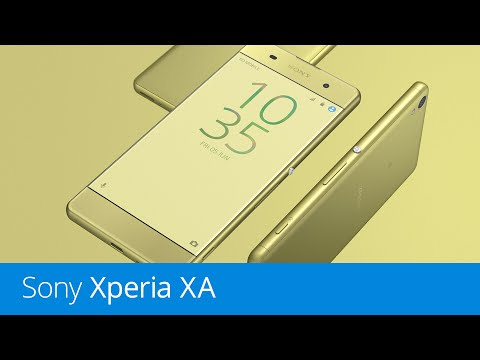 Sony Xperia XA (recenze)