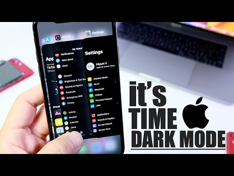 It's time for Dark Mode on the iPhone | When will Apple introduce this New Feature ?