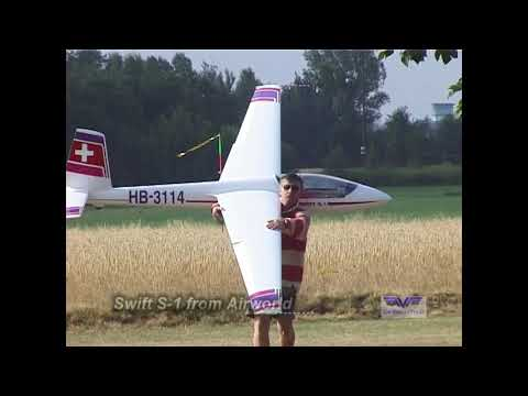 Giant RC Gliders and Tow Planes in Germany