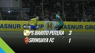 [Pekan 13] Cuplikan Pertandingan PS Barito Putera vs Sriwijaya FC, 8 Juni 2018