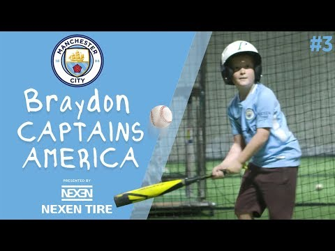 Braydon Captains America | Episode 3 - Braydon meets the Phoenix Suns and tries the pie!
