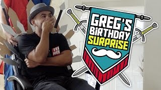 Greg\'s Medieval Surprise Performance!