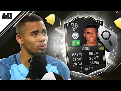 FIFA 17 GABRIEL JESUS REVIEW | OTW JESUS | FIFA 17 ULTIMATE TEAM PLAYER REVIEW