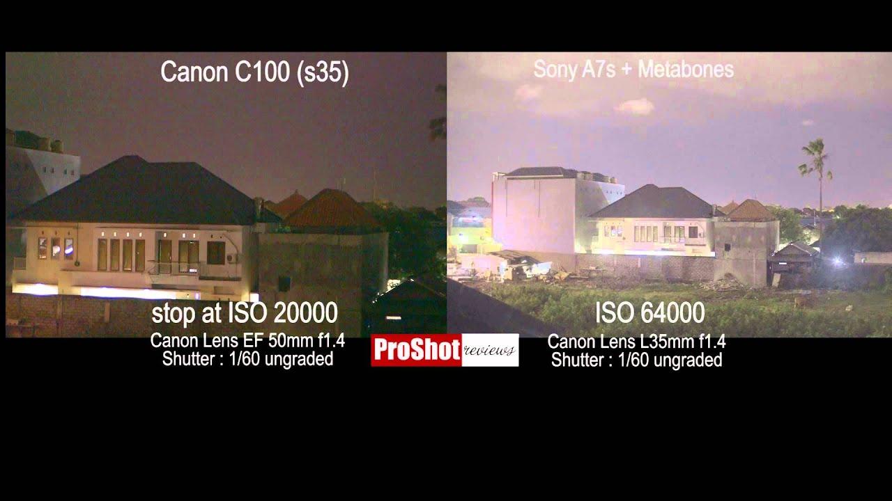 Sony A7s vs Canon C100  Low Light Test & Sony A7s vs Canon C100 : Low Light Test - YouTube azcodes.com