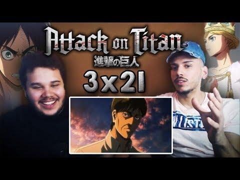 Repeat Attack On Titan Season 3 Episode 21 reaction | 13