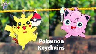 DIY Crafts: How to make Pokemon Keychains