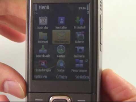 Nokia 6720 classic Test Bedienung