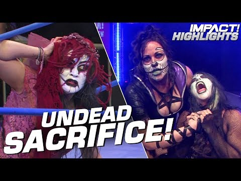 Rosemary ABDUCTS an Undead Bridesmaid! | IMPACT! Highlights Apr 26, 2019