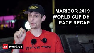 Maribor World Cup DH 2019 Race Recap w/ Ben Cathro