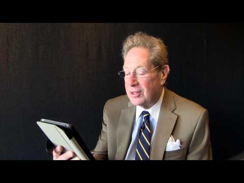 John Sterling reads a grocery store list