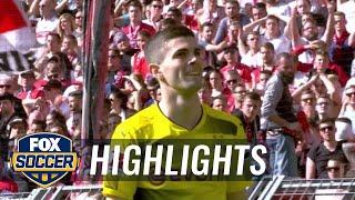 Borussia Dortmund vs. VfB Stuttgart | 2017-18 Bundesliga Highlights