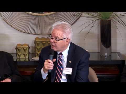 David Lampton Discusses US-China Relations at USCET's 20th Year Anniversary Celebration (1)