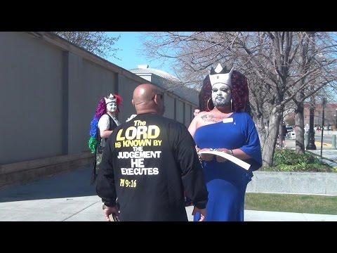 Mormon doctrine SHATTERED by Street Preachers! // Spokane Street Preachers