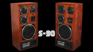 Изготовление колонок S90 из красного дерева. Восстановление S90
