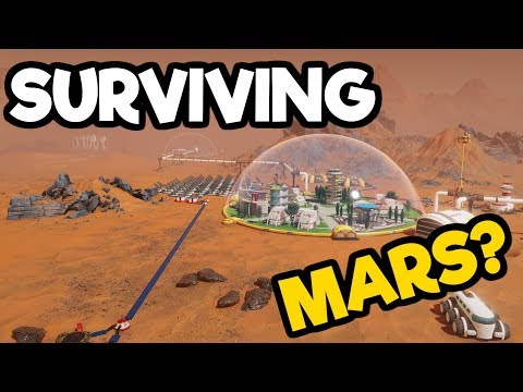 Surviving Mars Gameplay Impressions #4 - Power Problems / Things Fall Apart
