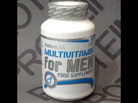 Купить в Украине Витамины BioTech Multivitamin for Men — 60 табл
