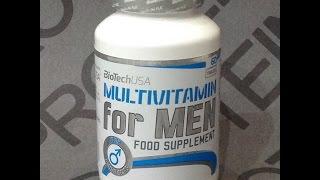 Купить в Украине Витамины BioTech Multivitamin for Men — 60 табл(, 2017-01-14T09:46:05.000Z)