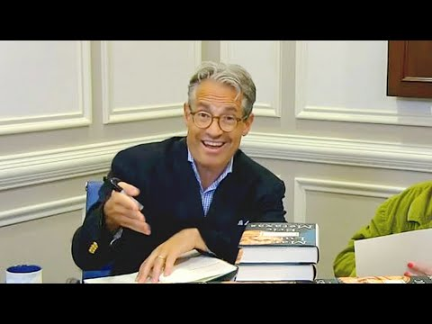 """Eric Metaxas Book Signing  & Interview 