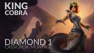 King Cobra - Diamond 1 Best Cassiopeia Montage!