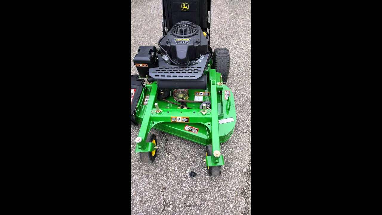 John Deere WHP36A Review