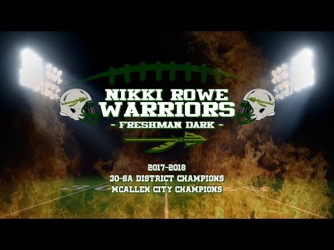 Nikki Rowe Warriors (2017 Freshman Dark Highlights)