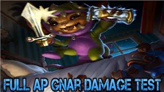 Full AP Gnar Damage Test