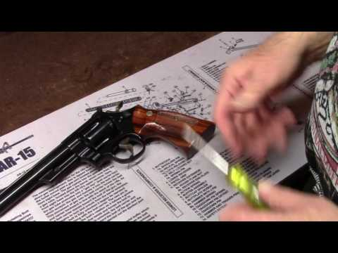Disassembly and Care of the S&W Revolver ~ Learn from a Factory Trained Armorer!
